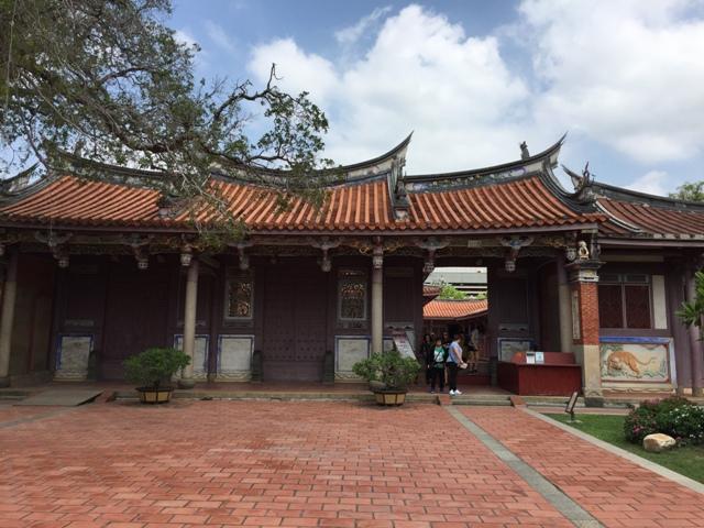 台南孔庙内部