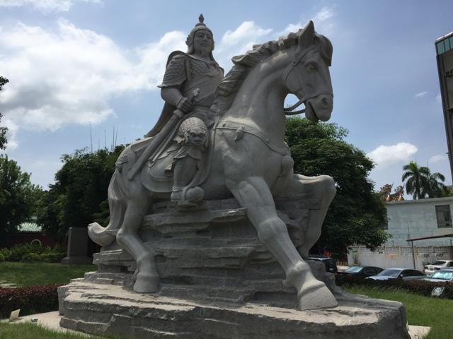 郑成功雕塑