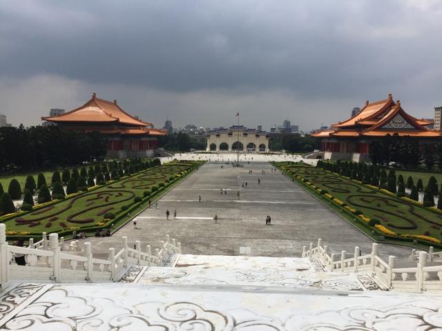 俯瞰台北自由广场