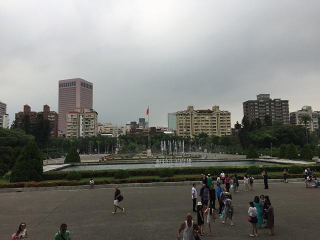国父纪念馆前广场