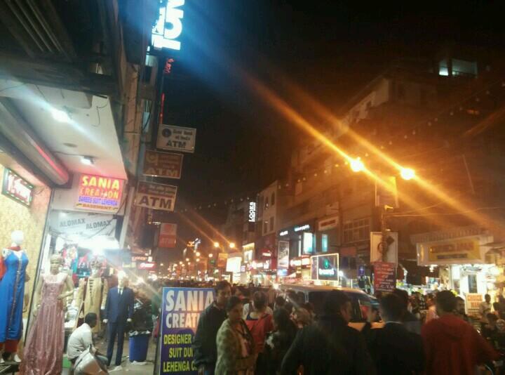新德里街头