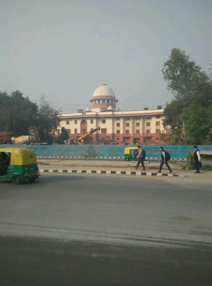 新德里街景