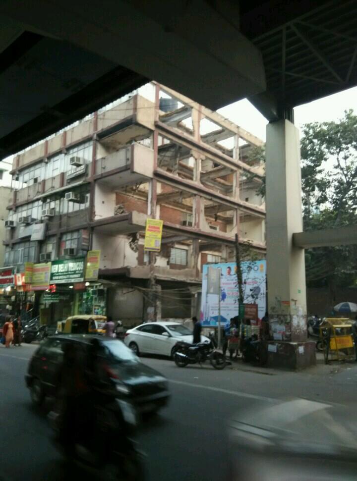 印度大街上