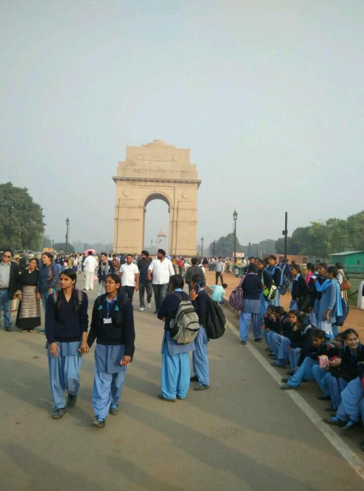 游览印度门