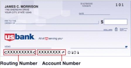 银行routing number
