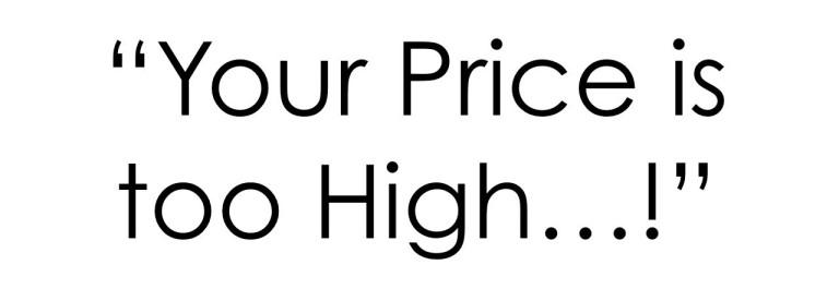 国外客户说价格高