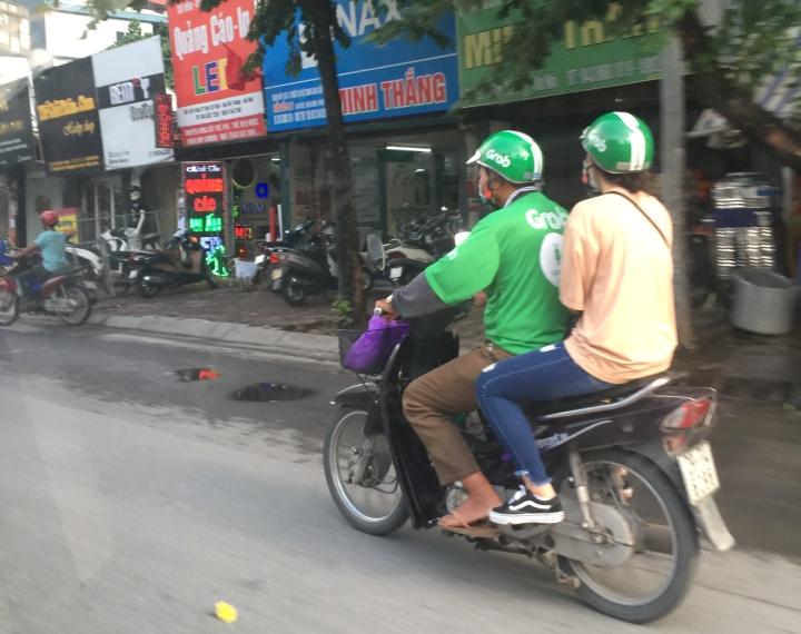 grab摩托车
