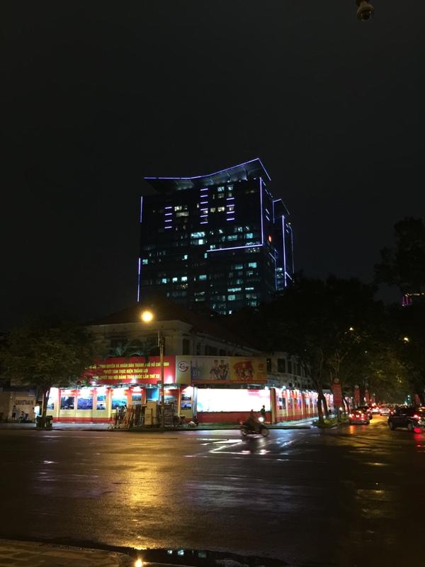 胡志明街景