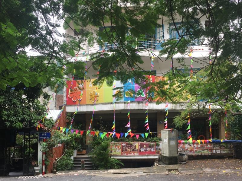 越南河内的幼儿园