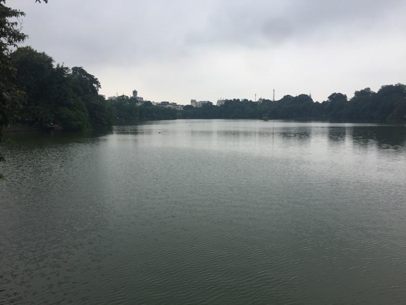还剑湖湖面