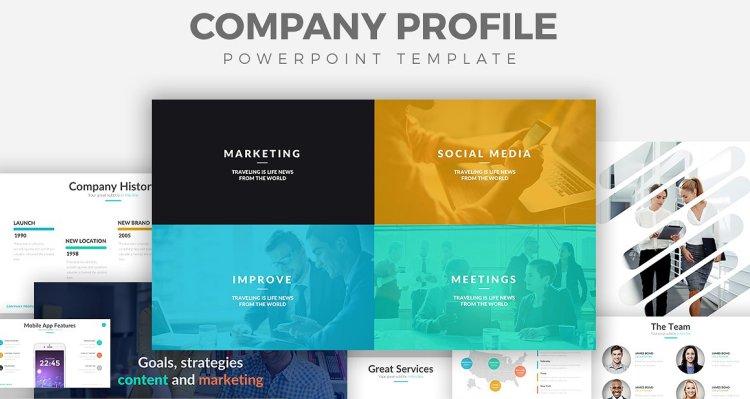 外贸company profile