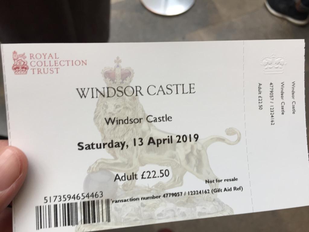 温莎城堡门票