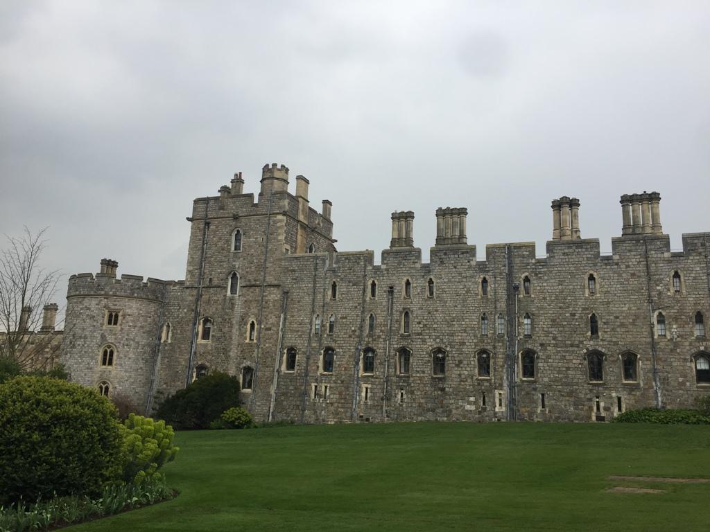 温莎城堡的外面