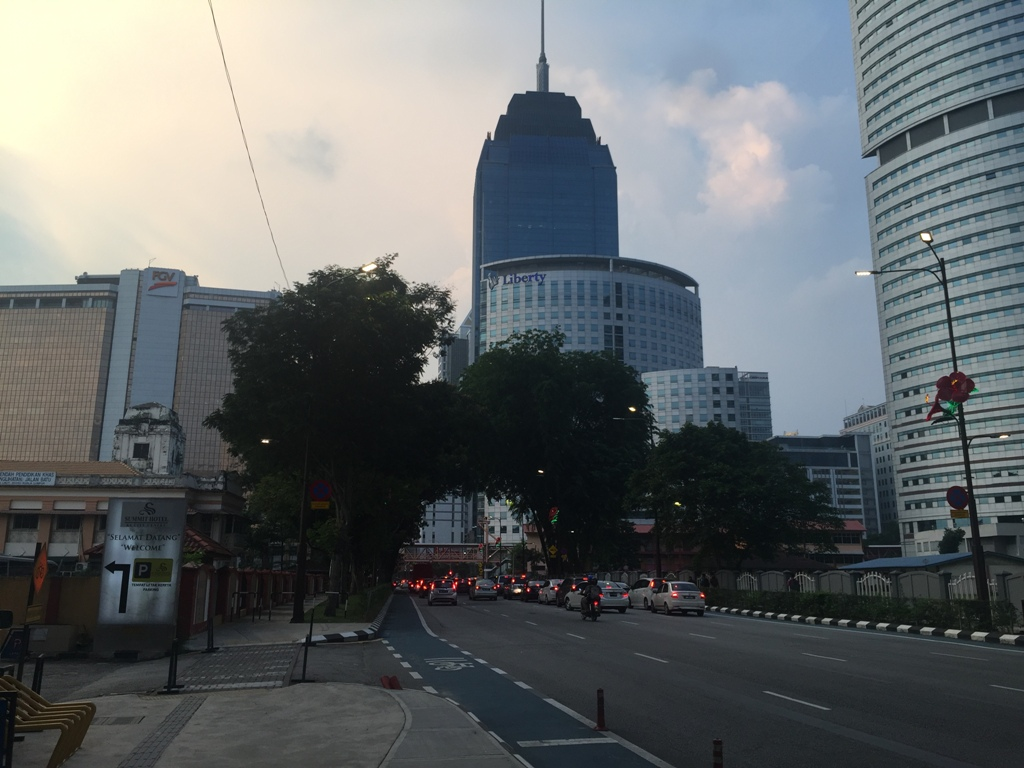 吉隆坡黄昏