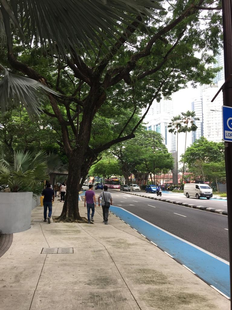 吉隆坡市区街道