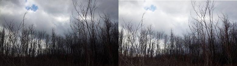 图片亮度调整前后对比